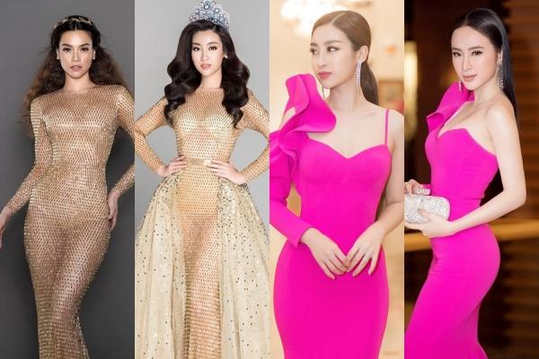 """Hô biến chiếc váy cũ trở nên mới mẻ, mấy ai cao tay được như """"Hoa hậu nghèo"""" Đỗ Mỹ Linh"""