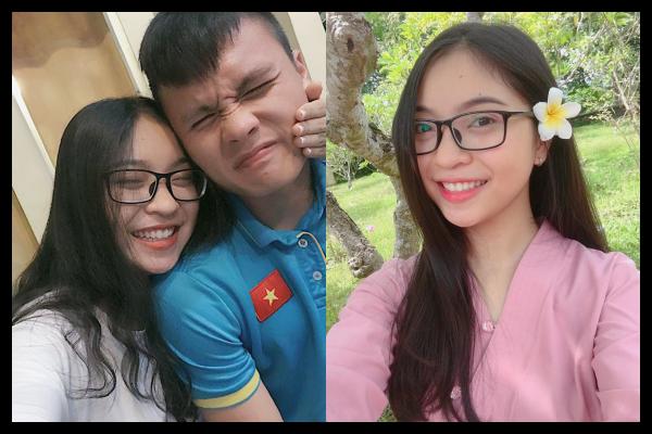 """Ngất ngây với nhan sắc """"vạn người mê"""" của bóng hồng xinh đẹp bên cạnh tiền vệ Quang Hải"""