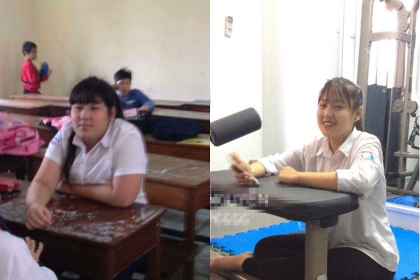 Đánh bay 24 kg mỡ thừa trong 5 tháng, nữ sinh 2k3 đã chứng minh không có con gái xấu chỉ có con gái chưa chịu giảm cân