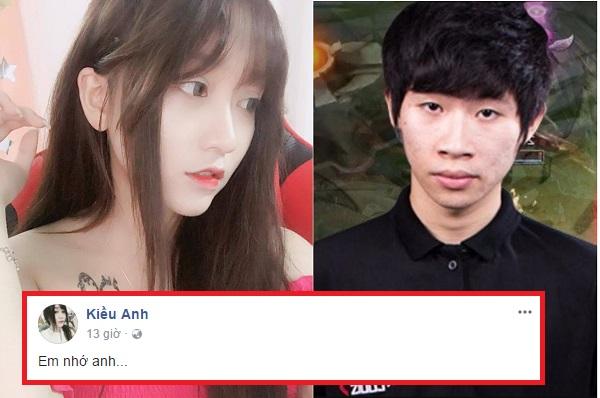 """Sợ Shyn tung clip 9GB, Kiều Anh ngay lập tức xoa dịu bằng lời mật ngọt """"Em nhớ anh""""?"""