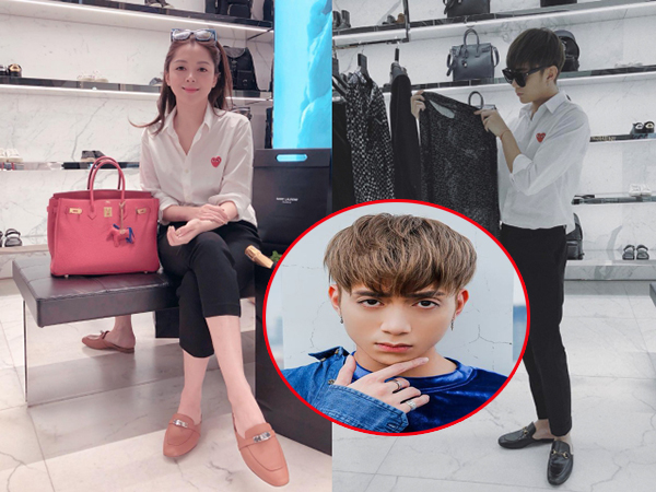 Soobin Hoàng Sơn diện đồ đôi cùng bạn gái mới nhân dịp ngày lễ tình nhân