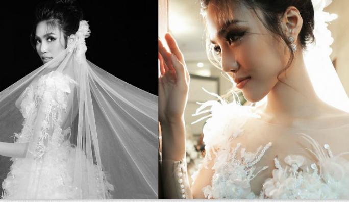 Lan Khuê đẹp tựa nữ thần trong bộ váy cưới, ấn định ngày lên xe hoa!