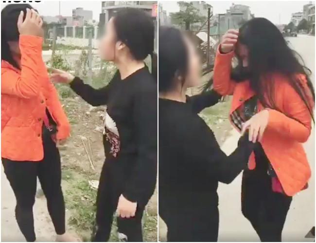 Mạnh miệng nhắn tin thách thức vợ chính chuyên, cô bồ nhí bị chị vợ chặn đường dằn mặt