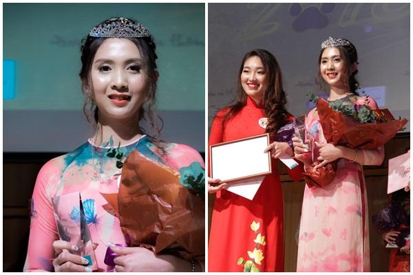 Cô nàng răng khểnh dễ thương trở thành Hoa khôi du học sinh Việt Nam toàn Nhật Bản
