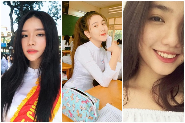 """Chiêm ngưỡng dung nhan 4 nữ sinh xứng tầm hot girl của 4 ngôi trường cấp 3 """"đỉnh cao"""" Sài Gòn"""