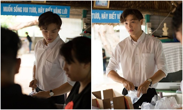 """Danh tính cực choáng của """"hot boy tình nguyện"""" vừa đẹp trai vừa tốt bụng nổi nhất TP HCM"""