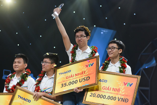 Chân dung Phan Đăng Nhật Minh - cậu bé Google giành vòng nguyệt quế Đường lên đỉnh Olympia 2017