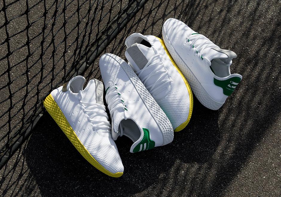 Pharrell William tiếp tục gây sốt khi cho ra mắt adidas Tennis Hu
