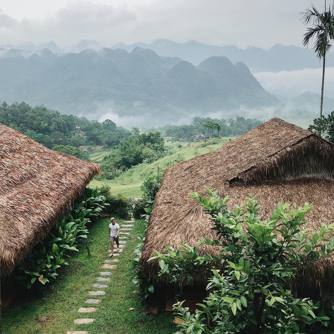 Rủ hội bạn thả mình lạc trôi giữa Puluong Retreat : khu nghỉ dưỡng đẹp chẳng khác chốn bồng lai tiên cảnh giữa núi rừng xứ Thanh