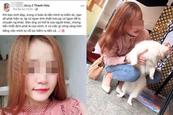 Girl xinh Thanh Hóa vay nhẹ bạn trai 30 triệu rồi trắng trợn ăn quỵt, trên Facebook toàn nói lời đạo lý nhưng cách sống như gì!