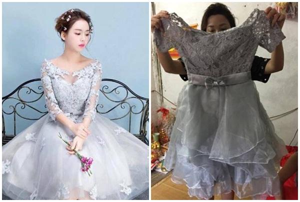 """Bỏ bạc triệu mua váy online, cô gái """"số nhọ"""" nhận được cái...rẻ lau nhà cho không ai thèm lấy"""