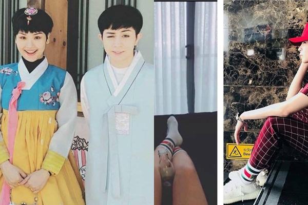 """Từ đôi giày đôi diện chung ở Hàn Quốc, CĐM """"khui"""" ra cả loạt đồ đôi của Gil Lê - Miu Lê từ trước cả khi """"công khai"""""""