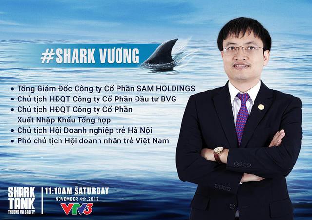 """Không đẹp trai bằng """"Shark"""" Khoa, """"Shark"""" Vương còn """"ôm"""" 2 công ty ngập trong thua lỗ"""