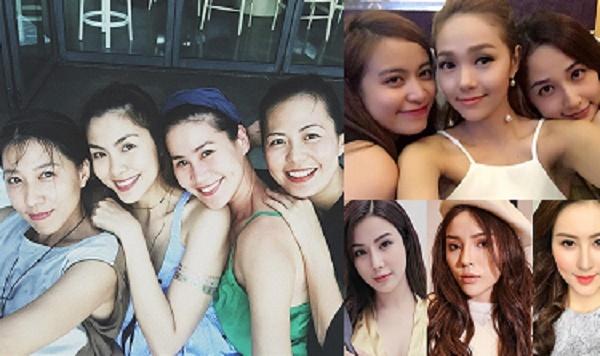 """Những hội bạn thân đẳng cấp nhất showbiz Việt: Nhóm ngày càng xinh đẹp, nhóm """"biến dạng"""" kinh hoàng"""