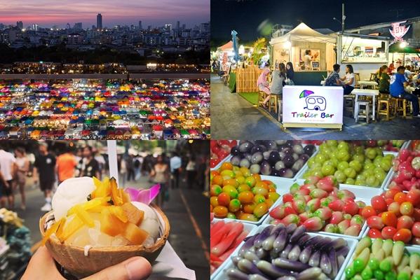 Đến Thái Lan mà không ghé 'khu chợ cầu vồng' Train Market thì chưa gọi là đi chơi đâu nhé!