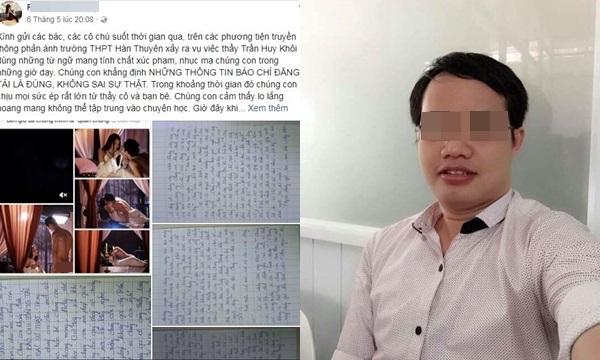 Thầy giáo dạy văn đồng tính bị bóc phốt gạ tình, viết cả ngôn từ phòng the lên bảng khi giảng bài