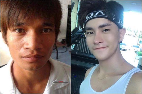 """Lộ ảnh Lệ Rơi """"đập mặt"""" lần 2 trên báo Thái đẹp trai như """"nam thần"""" nhưng sự thật sau đó mới khiến ai cũng ngã ngửa"""