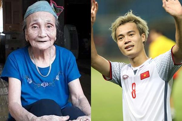 """Bà nội thủ môn Bùi Tiến Dũng thủ thỉ sau trận đấu """"Thương nhất Văn Toàn, còn trẻ sao tóc bạc hết rồi thế!"""""""