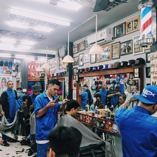 Điểm danh những tiệm tóc nam chất nhất Sài Gòn