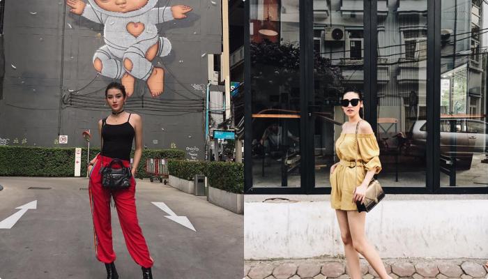 """Tú Anh - Huyền My 2 nàng hậu khiến fan chỉ biết """"than trời"""" bởi phong cách thời trang """"một 9 một 10"""""""