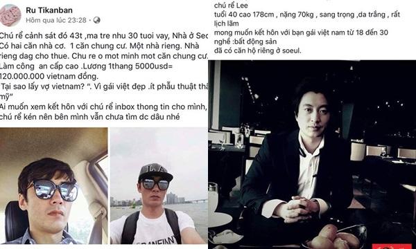 Đàn ông Hàn Quốc ế vợ khoe lương trăm củ nhà tiền tỷ, rầm rộ tuyển vợ Việt Nam