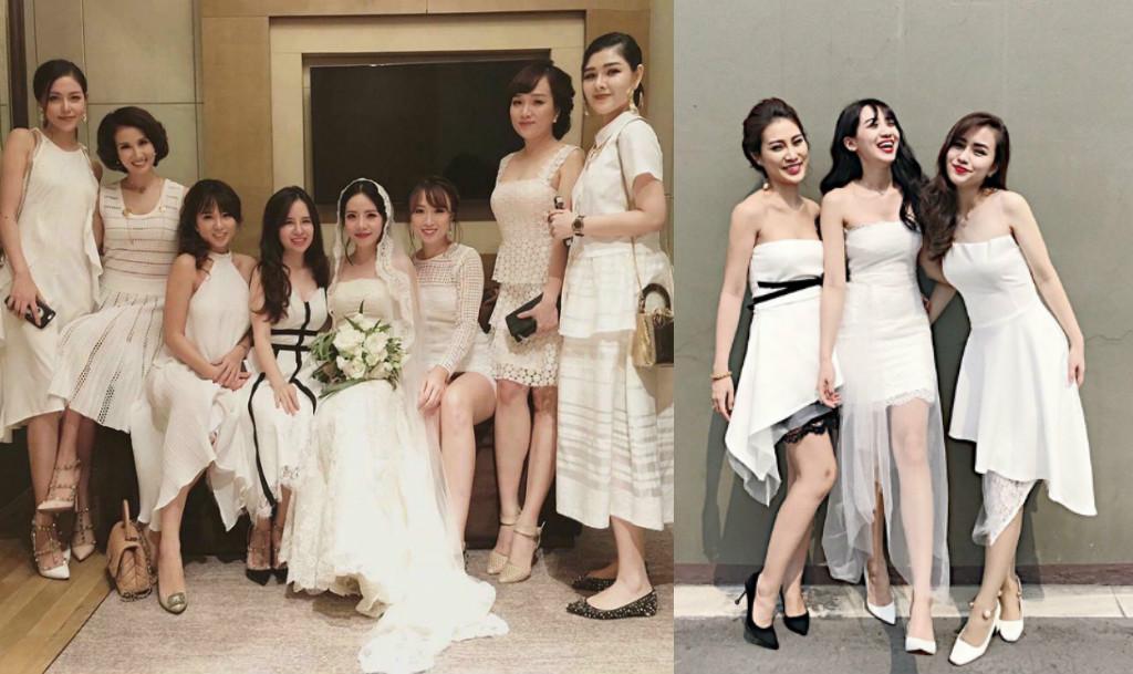 """Ngày nay, đi ăn cưới đích thị phải mặc đồ """"dresscode"""" với lũ bạn thân mới ấn tượng"""