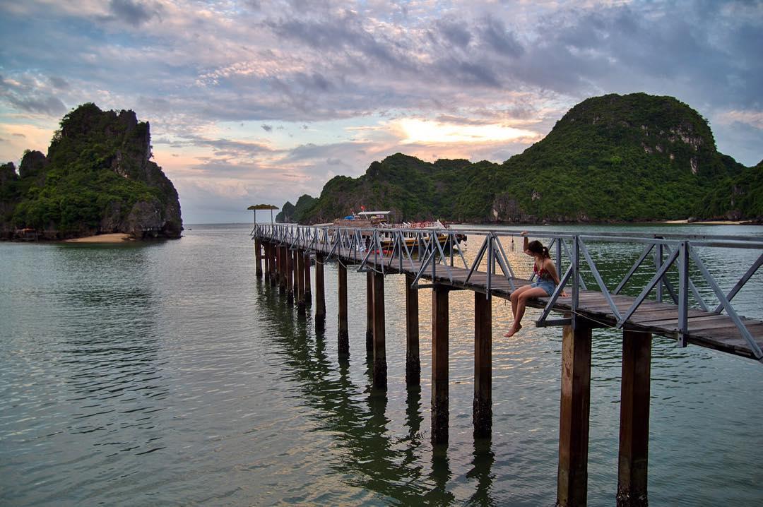 """Lùng ra """"thiên đường nhiệt đới"""" đảo Nam Cát mới toanh đẹp tựa Krabi sát xịt Hà Nội cho team trốn nắng"""