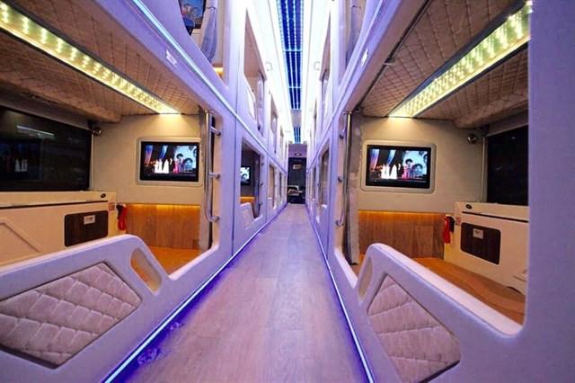 """Phát hiện cả một """"khách sạn di động""""  lăn bánh êm ru dọc tuyến Sài Gòn – Đà Lạt chỉ từ 300K/1 người"""