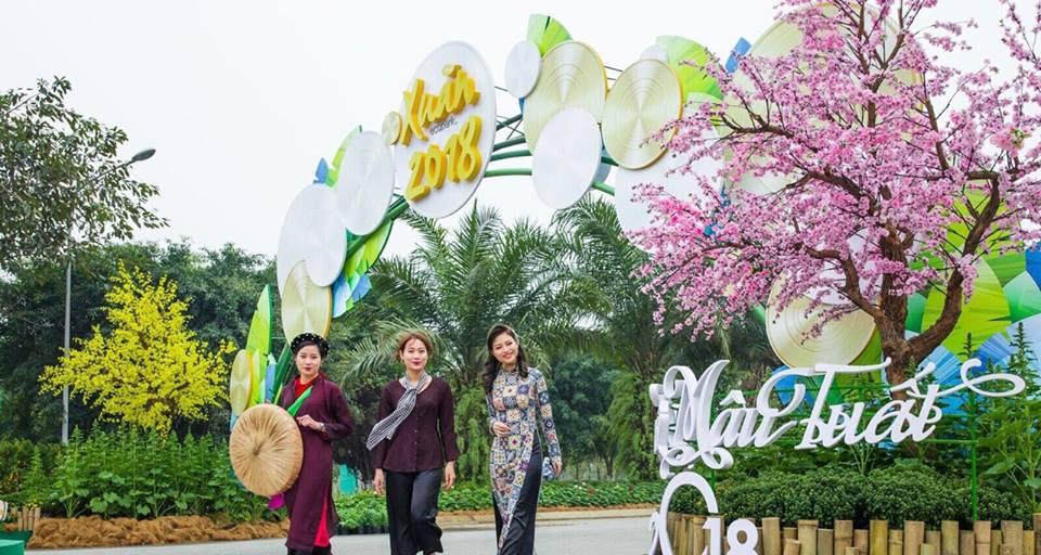 Lỡ cả mùa xuân nếu không nhanh chân xúng xính Áo dài thả dáng tại Lễ hội Xuân 3 miền ngay sát xịt Hà Nội