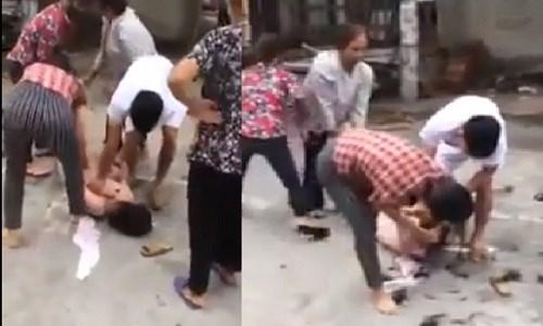5 đối tượng đánh ghen kinh hoàng ở Vĩnh Phúc là vợ, mẹ ruột và họ hàng của người đàn ông bị cáo buộc có quan hệ với nạn nhân