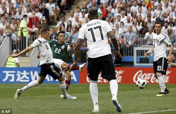 Giải mã cú sốc lớn nhất World Cup 2018 kể từ đầu mùa: Đức thua Mexico vốn là cái dớp của nhà vô địch