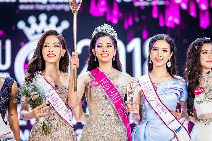 Nữ sinh Quảng Nam Trần Tiểu Vy trở thành tân Hoa hậu Việt Nam 2018