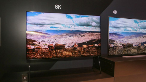 Ti vi QLED 8K đầu tiên trên thế giới được Samsung giới thiệu tại CES 2018
