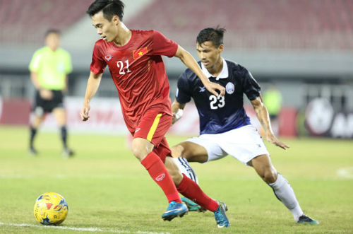 Trận đấu cuối cùng của Việt Nam ở vòng bảng AFF Cup 2018 diễn ra trên sân Hàng Đẫy
