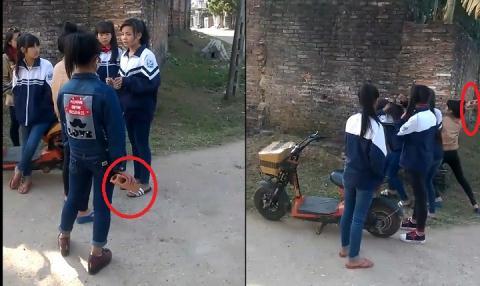 Bắc Giang: Nữ sinh lớp 8 cầm gạch phang bạn ngất xỉu