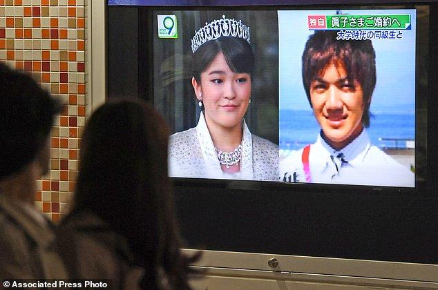 Công chúa Nhật Bản chấp nhận làm thường dân để lên xe hoa với người mình yêu