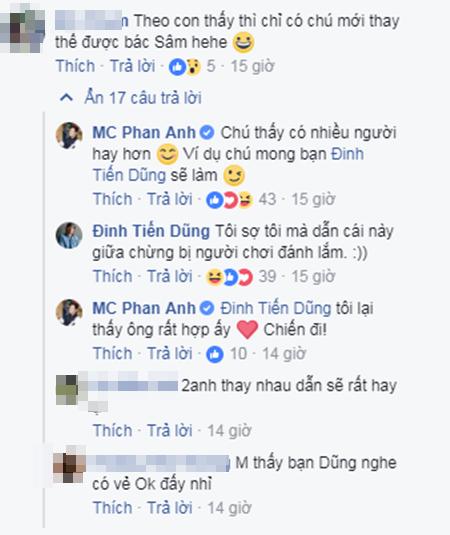 Vừa bỏ chấm thi Hoa hậu, Phan Anh tiết lộ sẽ thay thế MC Lại Văn Sâm trong Ai là triệu phú?