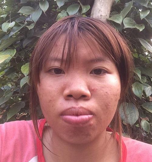 Quách Thị Kim Phượng, bà mẹ đơn thân 22 tuổi gây sốt