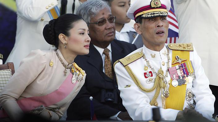 Cuộc đời đào hoa của thái tử nối ngôi Quốc vương Thái Lan